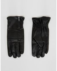 SELECTED - Gloves In Leather - Lyst
