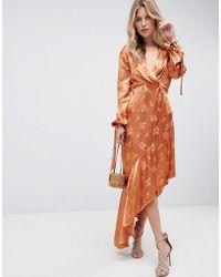c19e06337920 Vestido orelia en color burnt orange LPA de color Naranja - Lyst