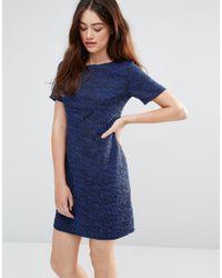 Sugarhill - Dora Sketchy Jacquard Dress - Lyst