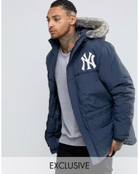 Majestic Filatures - Yankees Parka Exclusive To Asos - Lyst