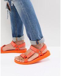 ALDO - Moesen Tech Sandals In Orange - Lyst