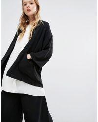 ADPT - Kimono Jacket - Black - Lyst