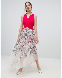Coast - Samantha Print Maxi Dress - Lyst