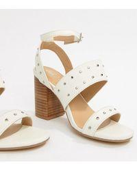 Park Lane - Parklane Studded Heeled Sandals - Lyst