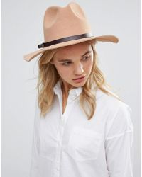 Lavand - Fedora Hat - Lyst
