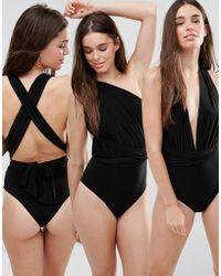 Goddiva - Multiway Swimsuit - Lyst