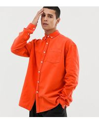 Collusion - Oversized Washed Oxford Shirt - Lyst
