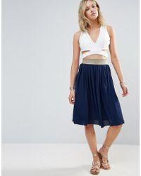 Wal-G - Midi Skirt - Lyst