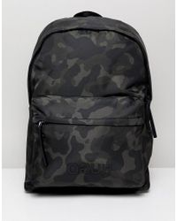 HUGO - Record C Back Pack In Camo - Lyst