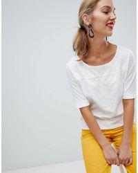 Esprit - Flute Sleeve T-shirt - Lyst