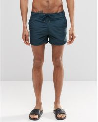 Pull&Bear - Swim Shorts In Green - Lyst