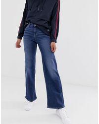 ONLY - Wide Leg High Waist Jean - Lyst
