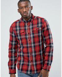 Criminal Damage - Lumber Check Shirt - Lyst