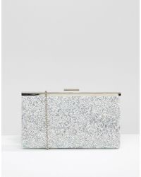 Womens Tropical Embroidory Clutch Off-White (Oatmeal) New Look 3lSIw3lW