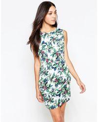 Madam Rage - Pencil Dress In Floral Print - Lyst
