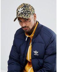 adidas Originals - Cap In Camo Ce4870 - Lyst