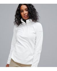 Columbia - Glacial Iv Half Zip Fleece In Cream - Lyst