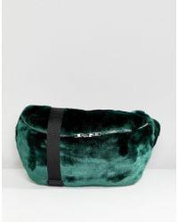 Weekday - Large Faux Fur Body Bag - Lyst