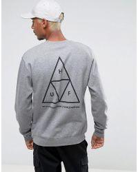 Huf - Triple Triangle Sweatshirt - Lyst