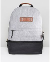 Fossil - Summit Backpack In Canvas & Coated Canvas - Lyst