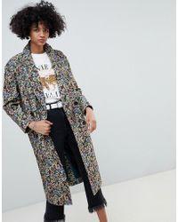 ASOS - Tapestry Coat - Lyst