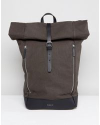 Sandqvist - Marius Roll Top Backpack - Lyst