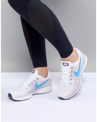 Nike - Air Zoom Pegasus Trainers In White - Lyst