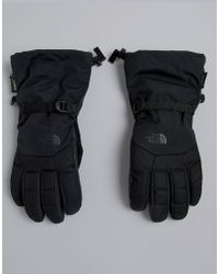 The North Face - Montana Gore-tex Gloves In Black - Lyst