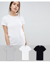 ASOS - Ultimate T-shirt With Crew Neck 3 Pack Save 20% - Lyst