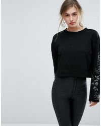 Ivyrevel - Sweat With Embellished Sleeves - Lyst
