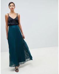 Coast - Imi Pleated Maxi Skirt - Lyst