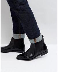 Farah - Theodore Hi Shine Chelsea Boots - Lyst