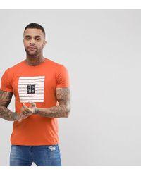 Brooklyn Supply Co. - Colour Block Asian Print T-shirt - Lyst
