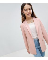 ASOS - Design Petite Mix & Match Tailored Blazer - Lyst
