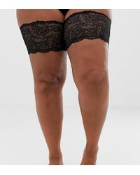 ASOS - Asos Design Curve Lace Chafing Bands - Lyst
