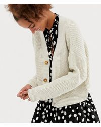 Collusion - Boxy Cropped Cardigan - Lyst