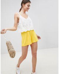 ASOS - Design Culotte Shorts - Lyst