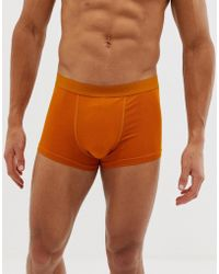 Weekday - Dylan Boxers In Mustard - Lyst