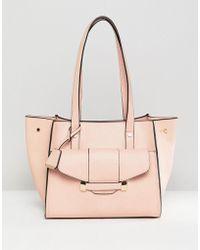 Glamorous - Pink Front Pocket Bag - Lyst