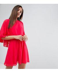 ASOS | Split Sleeve Mini Dress | Lyst