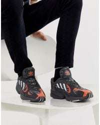 size 40 69245 7e22f adidas Originals - Yung-1 Trainers In Tartan Ef3967 - Lyst