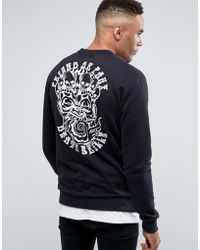 Friend or Faux - Booth Back Print Jumper - Lyst