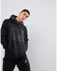 Nike - Nike 23 Logo Hoodie In Black 908354-010 - Lyst