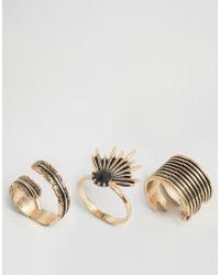 ALDO | Araliri Multipack Rings | Lyst