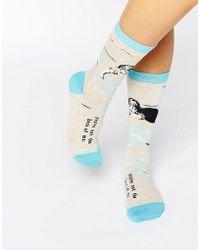 Blue Q - Not The Boss Socks - Lyst