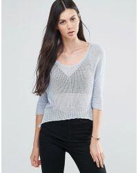 Love - Lightweight Sweater - Lyst