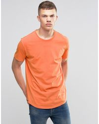 Bench - T-shirt Innate With Worn Look - Lyst