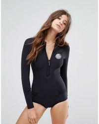 Rip Curl - Rip Curl Surf Neoprene Wetsuit In Black - Lyst