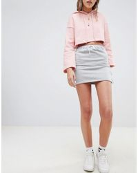 Daisy Street - Skirt With Popper Sides - Lyst