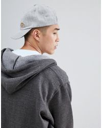 Dickies - Willow City Baseball Cap With Small Logo In Grey - Lyst